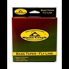 Bass Taper Floating Line – 8 Wt. – Moss Green