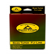 Bass Taper Floating Line – 9 Wt. – Moss Green