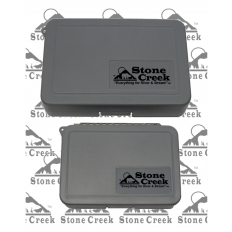 Ripple Foam Fly Boxes - Small - Grey
