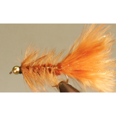Bead Head Woolly Bugger - Brown - Dozens
