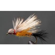 Biot Leg Salmon Fly - Orange - Single