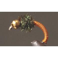 Brassie / Brassy Nymph - Bead Head
