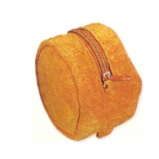Suede Reel Pouch - Large - 4 Inch - Double Reel