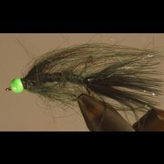 Hot Head Leech - Pond Olive